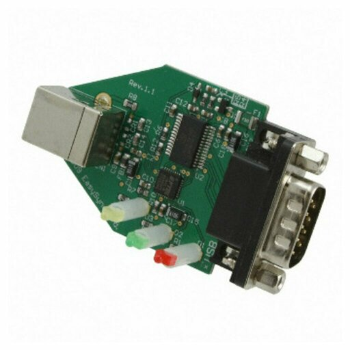 electronic card of a usb converter rs232