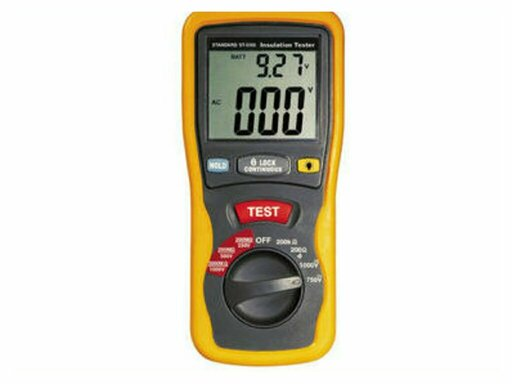An ohm meter is a measuring instrument for measuring the electrical resistance of a component or an electric circuit
