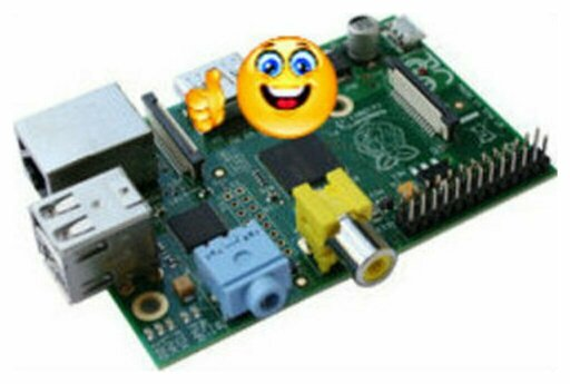 Raspberry Pi Mudel B Rev2