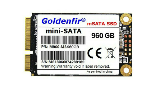 Mini-SATA is an adaptation of the SATA Protocol for Netbooks